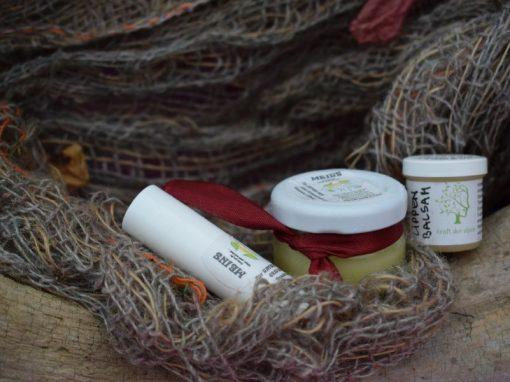 Lippenbalsam Lavendel oder Olive